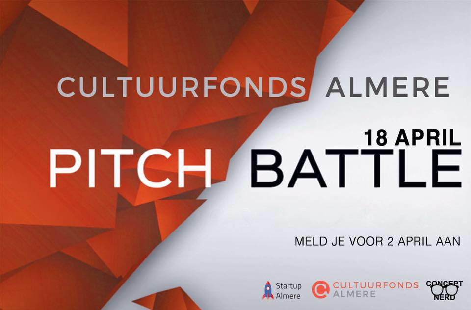 Pitch Battle Cultuurfonds Almere