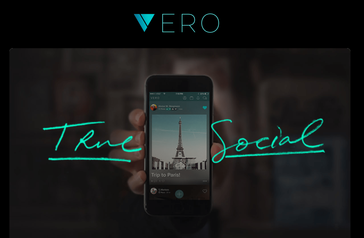 Vero True social biblyo review